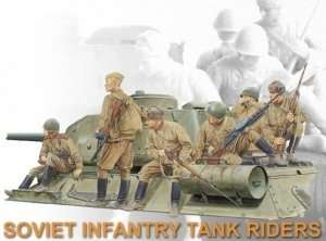 Dragon 6197 Soviet Infantry Tank Riders