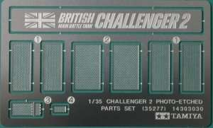Tamiya 35277 Challenger 2 Photo-Etched Parts Set