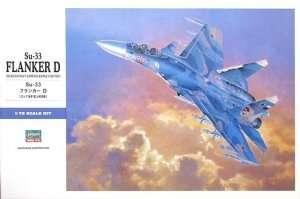 Fighter Sukhoi Su-33 Flanker D - Hasegawa e35