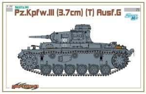 Dragon 6765 Sd.Kfz.141 Pz.Kpfw.III (3.7cm) (T) Ausf.G
