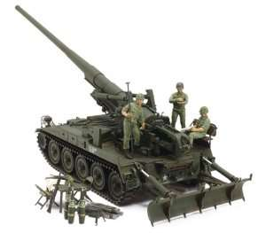 Tamiya 37021 M107 U.S. Self-Propelled Gun (Vietnam War)