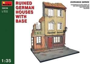 MiniArt 36038 Ruined German Houses w/Base