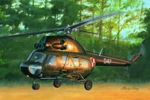 87242 - Mi-2US Hoplite gunship variant - polska kalkomania