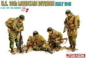 U.S. 10th Mountain Division Italy 1945 Dragon 6377