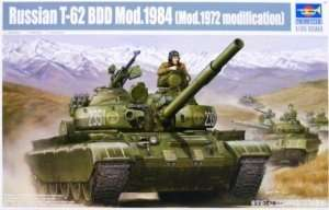 Trumpeter 01554 Russian T-62 BDD Mod.1984 (Mod.1972 modification)