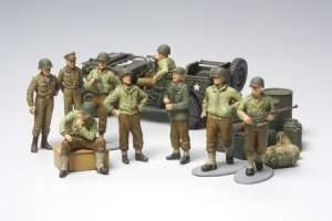 Tamiya 32552 WWII U.S. Army Infantry At Rest