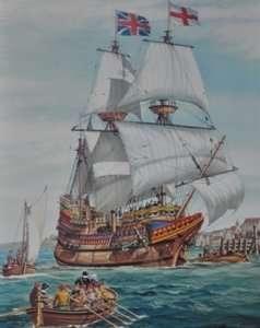 Heller 80828 Żaglowiec Mayflower