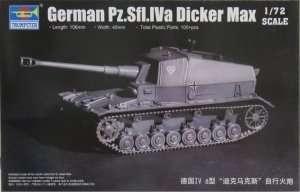 Model German Pz.Sfl.IV a Dicker Max - Trumpeter 07108