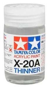 X-20A rozcieńczalnik do farb akrylowych 46ml Tamiya 81030