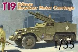 Dragon 6496 T19 105mm Howitzer Motor Carriage