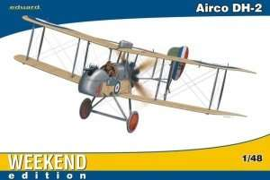 Fighter WWI Airco DH-2 model Eduard 8443