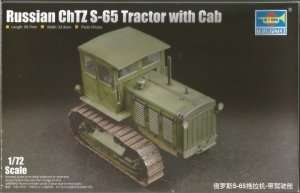Model Trumpeter 07111 - Russian ChTZ S-65 Tractor with Cab