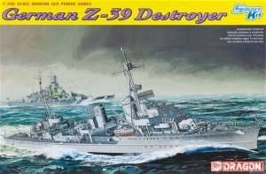 Dragon 7103 German Z-39 Destroyer