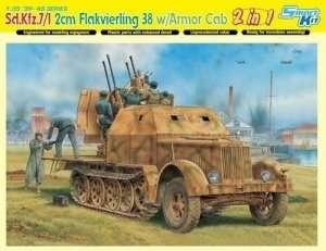 Dragon 6533 Sd.Kfz.7/1 2cm Flakvierling 38 w/Armor Cab