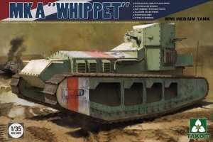 Model Takom 2025 Whippet Mk A WWI medium tank