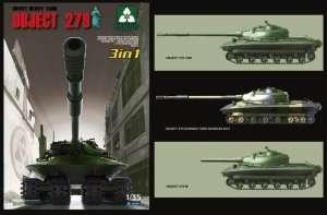 Takom 2001 Soviet Heavy Tank Object 279
