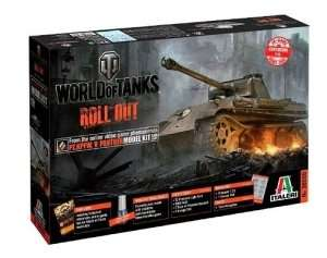 World of tanks Italeri WOT tank Panther