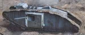 MB 72005 MK II Male British Tank WWI - Arras Battle period, 1917