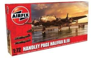 A06008 Model bombowca Handley Page Halifax B MkIII
