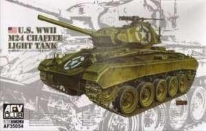 AF35054 US WWII M24 Chaffee Light Tank
