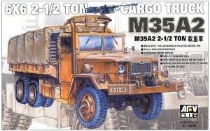 AFV 35004 M35A2 6x6 Cargo Truck