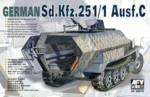 AFV 35078 Transporter Sd.Kfz.251/1 ausf.C skala 1-35