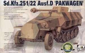 AFV 35083 Niszczyciel czołgów Sd.Kfz.251/22 ausf.D Pakwagen
