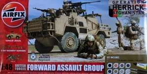 Airfix A50124 Forward Assault Group - zestaw z farbami i klejem