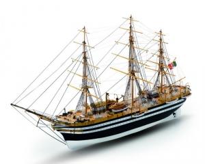 Amerigo Vespucci Mamoli MV57 drewniany model statku w skali 1-150