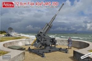 Amusing Hobby 35A020 Działo 12.8cm Flak 40&FuMG 39D