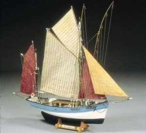 BB580 Marie Jeanne - drewniana łódź rybacka