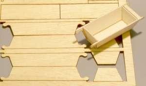 Balia drewniana skala 1-35 Plusmodel 389