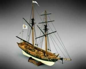 Black Prince - Mamoli MV46 - drewniany model w skali 1-57
