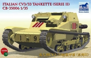 Bronco CB35006 Italian CV3/33 Tankette Serie II Early Production