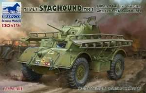 Bronco CB35115 T17E1 Staghound Mk.I