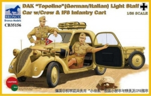 Bronco CB35156 Fiat Topolino samochód sztabowy DAK