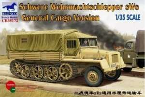 Bronco CB35172 German sWS Tractor Cargo Version