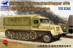 Bronco CB35172 German sWS Tractor Cargo Version