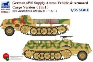 Bronco CB35214 sWS Supply Ammo Vehicle and Armored Cargo Version 2in1