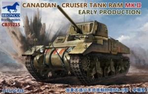 Bronco CB35215 Canadian Cruiser Tank RAM Mk.II 1-35