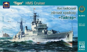 Brytyjski krążownika Tiger ARK Models 40012