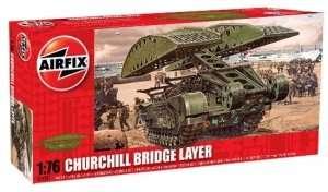 Brytyjski pojazd inżynieryjny Churchil Airfix 04301
