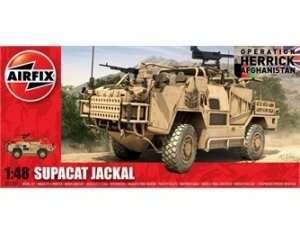 Brytyjski pojazd wojskowy Supacat HMT400 Jackal