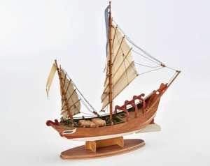 Chińska łódź Sampang - Amati 1561 - drewniany model