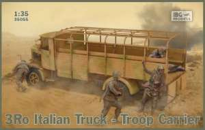 Ciężarówka 3Ro do transportu IBG 35055 skala 1-35