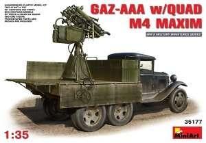Ciężarówka GAZ-AAA s/Quad M-4 Maxim MiniArt 35177