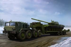 Ciężarówka MAZ-537G z naczepą ChMZAP-9990 Trumpeter 01065