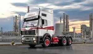 Ciężarówka Mercedes Benz SK Eurocab 6x4 - Italeri 3924