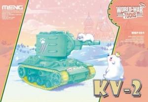 Czołg KV-2 edycja dla dzieci Meng WWP-004