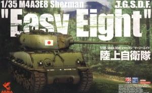 Czołg M4A3E8 Sherman Easy Eight JGSDF Asuka Model 35-024